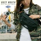 カメラバッグ ミラーレス一眼 ウエストバッグ ウエストポーチ BUSY MOUTH ビジーマウス MWB18065 ボディバッグ