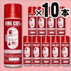 エアゾール式簡易消火具「 ファイアーカット」FC400D×10本セット(火災 初期消火 モリタユージー)