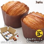 非常食 3年保存 ハローキティ缶deボローニャ 6缶セット  プレーン・メープル・チョコレート 缶詰パン パンの缶詰
