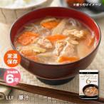 おいしい非常食 LLF食品 豚汁180g(ロングライフフーズ とん汁 みそ汁 味噌汁)