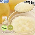 介護食 おいしくミキサー デザート 洋梨×12袋セット