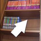 家具転倒防止  天井ツッパリ本棚 読書家向け専用 上段専用追加ブックガード