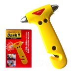 DASHII ダッシュ・ツー(緊急脱出用ツール ガラスハンマー シートベルトカッター)