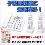 お店の固定電話に子機2台セットはいかがでしょうか?