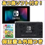 Nintendo Switch あつ森 ダウンロード版ソフト付き 新型 本体のみ 未使用品 保証書と外箱付き その他付属品ありません