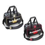 Brunswick BC85 ダブルキャスターバッグ 全2色 ボウリング ボール 2個用 キャスター バッグ ブランズウィック ボウリング用品 ボーリング グッズ
