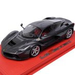 BBR MODELS 1/18スケール La Ferrari 2013 カーボンファイバー (ケース付き)