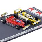 brumm 1/43スケール フェラーリ 312T4 G.ヴィルヌーブ&ルノーRS10 R.アルヌー 1979年フランスGP