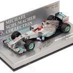 MINICHAMPS 1/43スケール メルセデスGP F1チーム MGP W02 #7 2011 M.シューマッハ