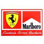 フェラーリ マールボロ オリジナル ステッカー SFスクデット Marlboro 13.7×9cmm (ネコポス対応) (宅急便コンパクト対応)