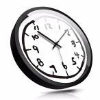 ショッピング壁掛け 壁掛け時計 クロック 壁時計 掛け時計 デジタル 数学 可愛い 数字時計 おしゃれ デザイン インテリア オフィス 書斎 電池式 静音 リビ