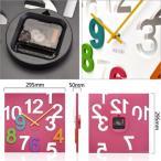 ショッピング壁掛け 壁掛け 時計 アナログ デザイン クロック MEIDI・CLOCK ウォール クロック ブラック