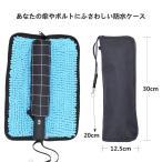 ショッピング傘 傘カバー 傘ケース ABINBO マイクロファイバー 折り畳み傘カバー 防水ファスナー 超吸水 2面超吸水 携帯便利 傘ケース 傘入れ 折り