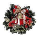 クリスマスリース ベル リボン 30cm christmas 装飾 玄関 ドア 飾り かわいい インテリアグッズ