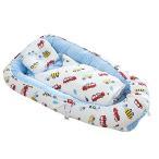 Brandream ベビーベッド 赤ちゃんベッド ベビー用布団付き 枕付き 冬用 暖かい ベッドインベッド 簡易ベッド ベッドガード 新生児