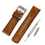 ディーゼル DIESEL 互換 汎用 ベルト バンド 24mm 26mm DZ6019 工具 バネ棒付き 交換 時計修理 腕時計 替えバンド FOSSIL