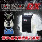 送料無 ブレイン「BR-551 アイスバックDX(アルミ保冷剤4個付き)」熱中症対策グッズ!専用保冷剤と気化熱効果で背中と脇を冷やす!