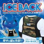 ショッピングクール 送料無料 熱中症対策グッズ ブレイン (BR-556 アイスバック Wダブル(不織布保冷剤付き)) ICE BACK 薄くて軽量 専用保冷剤と気化熱効果で背中を冷やす
