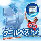 「菅原冷蔵 クールベストiアイ(保冷剤ベスト)アルミ保冷剤16個付き」合計4つの保冷剤ポケットで効率的に冷やす