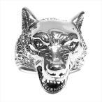 ザ グレートフロッグ THE GREAT FROG Wolf Ring ウルフ リング シルバー 15号 【美品】【中古】