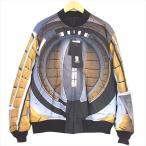 アンダーカバー UNDERCOVER UCV4201-1 2001年宇宙の旅 リバーシブル ボンバー ジャケット ブルー系 3 【新古品】【未使用】【中古】