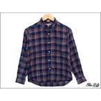 中古 INDIVIDUALIZED SHIRTS ネルシャツ L's 14 1/2-29