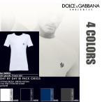 ショッピングドルチェ ドルチェ&ガッバーナ  DOLCE&GABBANA 半袖Tシャツ アパレル メンズ アンダーウェア ストレッチ クルーネック N60024 O0020