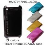 iPhone 3G/3GS/ケース MARC BY MARC JACOBS マークバイマークジェイコブス iPhoneケース 3G/3GS対応 メタリック M3111624