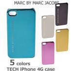 iPhoneケース 4対応 MARC BY MARC JACOBS マークバイマークジェイコブス  メタリック M3111625