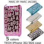 iPhone 3G/3GS ケース MARC BY MARC JACOBS マークバイマークジェイコブス iPhoneケース 3G/3GS対応 メタリック M3111631