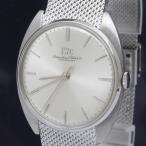 u5113 稼働 IWC シャフハウゼン 腕時計 アンティーク ヴィンテージ 手巻き メンズ SS シルバー 銀文字盤 ウォッチ