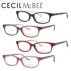 セシルマクビー CECIL McBEE 伊達 度付き 度入り メガネ フレーム ブランド 眼鏡 CMF7023 全4カラー レディース