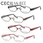セシルマクビー メガネ フレーム ブランド 眼鏡 伊達 度付き 度入り CECIL McBEE CMF3027 全4カラー 52