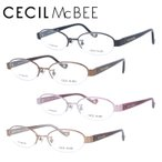 セシルマクビー メガネ フレーム ブランド 眼鏡 伊達 度付き 度入り CECIL McBEE CMF3028 全4カラー 51