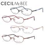 セシルマクビー メガネ フレーム ブランド 眼鏡 伊達 度付き 度入り CECIL McBEE CMF3030 全3カラー 51