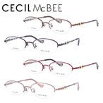 セシルマクビー メガネ フレーム ブランド 眼鏡 伊達 度付き 度入り CECIL McBEE CMF3034 全4カラー 50