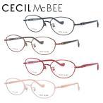 セシルマクビー メガネフレーム 女性 ブランド おしゃれ かわいい CECIL McBEE CMF 3039 全4カラー 51