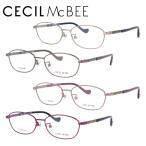 セシルマクビー メガネフレーム 女性 ブランド おしゃれ かわいい CECIL McBEE CMF 3040 全4カラー 52