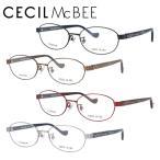 セシルマクビー メガネフレーム 女性 ブランド おしゃれ かわいい CECIL McBEE CMF 3043 全4カラー 52