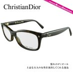 DIOR ディオール フレーム 伊達 度付き 度入り メガネ 眼鏡 CD3232 52/1 4 TRD/14 DKHAVAN BLCK セル/ラウンド/レディース