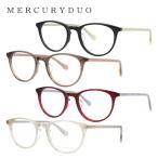 マーキュリーデュオ メガネフレーム MERCURYDUO MDF8042 全4カラー 50
