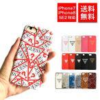 ゲス iPhoneケース スマホケース SE2 SE 第2世代 iPhone7 iPhone8 GUHCIRTLBK