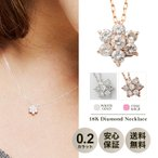 ダイヤモンドジュエリー ネックレス DTP5167PG 18金ピ