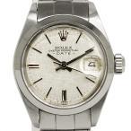 ロレックス オイスターパーペチュアル デイト SS レディース 腕時計 自動巻き シルバー 6916(中古)