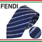 フェンディ ネクタイ レギュラータイ ストライプ ロゴ シルク 2018年夏新作 FENDI FXC160 A2SW F0PJ4
