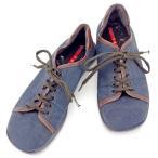プラダ PRADA スニーカー シューズ 靴 メンズ ♯7ハーフ ローカット スポーツライン 中古 人気 セール A1369