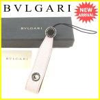 ショッピングブルガリ ストラップ ブルガリ BVLGARI 携帯ストラップ キーホルダー チャーム レディース ビーゼロワン 中古 美品 セール A1463