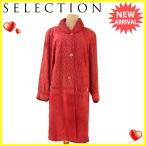 ショッピングSelection SELECTION コート ロング アウター レディース 中綿入り衿 シングルボタン [中古] 人気 セール A1509