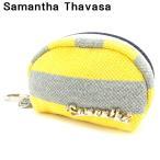 サマンサタバサ Samantha Thavasa ポーチ コインケース レディース メンズ ボーダー 中古 美品 セール G1263