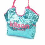 ショッピングキットソン キットソン kitson トートバッグ ワンショルダー レディース スパンコール 中古 美品 人気 I169